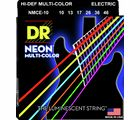 HiDef Multi Color Neon E 10 DR Strings