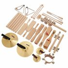 Goldon Percussion Set 4 in Wood Box
