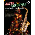 Schott Jazzy Christmas for Alto Saxop