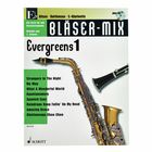 Schott Bläser-Mix Evergreens Vol.1 Eb
