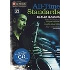 Hal Leonard All Time Standards Play Along