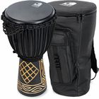 "Toca 10"" Black Mamba Djembe Set"