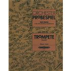 C.F. Peters Orchester Probespiel Trompete