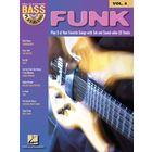 Hal Leonard Bass Play-Along Funk