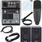 Behringer Xenyx 302 USB Podcast Bundle