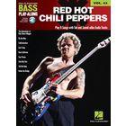 Hal Leonard Bass Play Along Red Hot Chili