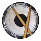 Music Sales Mouse Pad Drum Head And Sticks