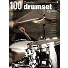 Hal Leonard 100 Essential Drumset Lessons