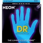 DR Strings HiDef Blue Neon Medium5 45-125