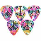 Grover Allman Rainbow Peace Picks
