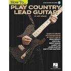 Hal Leonard Country Lead Guitar