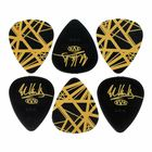 Dunlop EVH Black/Yellow Stripes Tin 6