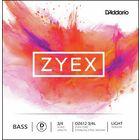 Daddario DZ612-3/4L Zyex Bass D light