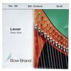 Bow Brand BW 6th B Harp Bass Wire No.39