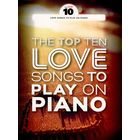 Wise Publications The Top Ten Love Songs