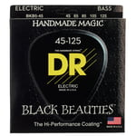 DR Strings Black Beauties BKB5-45