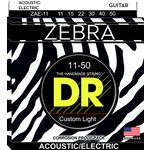 DR Strings Zebra A/E Medium Lite Set