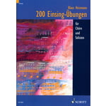 Schott 200 Einsingübungen for Chöre