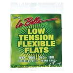 La Bella LTF-4A Bass Flexible Flats L
