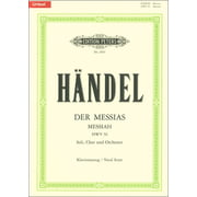 C.F. Peters Händel Der Messias HWV56