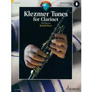 Schott Klezmer Tunes For Clarinet