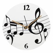 Anka Verlag Wallclock Music Notes