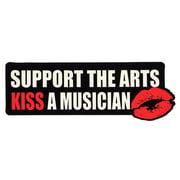 Bandshop Sticker Kiss A Musician