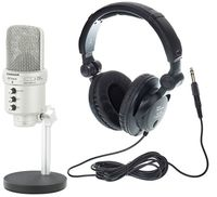 Samson G-Track Headphone Bundle