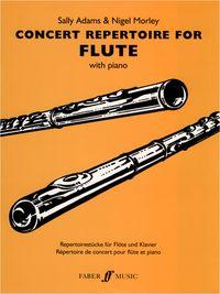 Faber Music Concert Repertoire for Flute