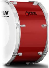Lefima Cylinder Color Chilli Red