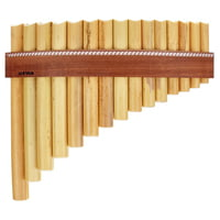 Gewa : Panpipes G- Major 15 Pipes