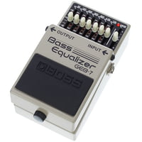 Boss : GEB-7 Bass Equalizer