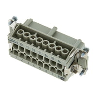 Harting : 16pin Female Multipin Chassis