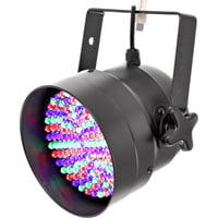 Stairville : LED PAR 56 10mm Black RGB