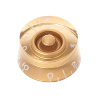 Harley Benton : Parts SC-Style Speedknob Gold