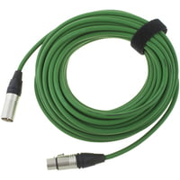 pro snake : 17900 Mic-Cable 15m Green
