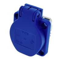 PCE : Mounting Power Socket Blue