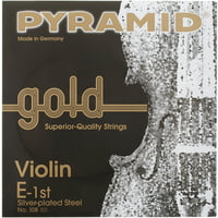 Pyramid : Gold Violin Strings 4/4