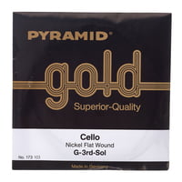 Pyramid : Gold Cello String 4/4
