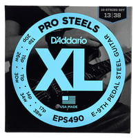 Daddario : EPS490 XL ProSteels