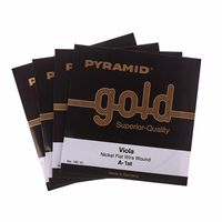Pyramid : Gold Viola Strings