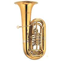 Cerveny : CVBB 781-4R Bb-Tuba