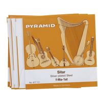 Pyramid : Sitar Strings 677/7