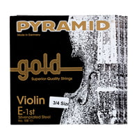 Pyramid : Gold Violin Strings 3/4