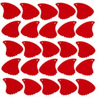 Sharkfin : Pick Relief Soft Red