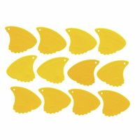 Sharkfin : Pick Relief Medium Yellow