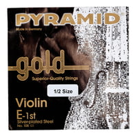 Pyramid : Gold Violin String E1/2