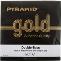 Pyramid : Gold Double Bass C String