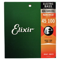 Elixir : Nanoweb Light Bass Guitar