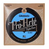 Daddario : EJ50 Black Nylon Strings Set